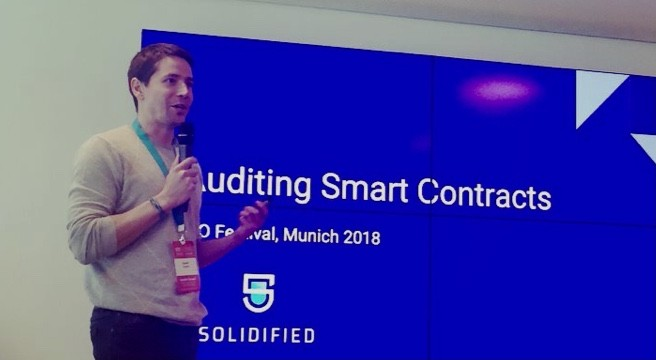 Auditing smart contracts